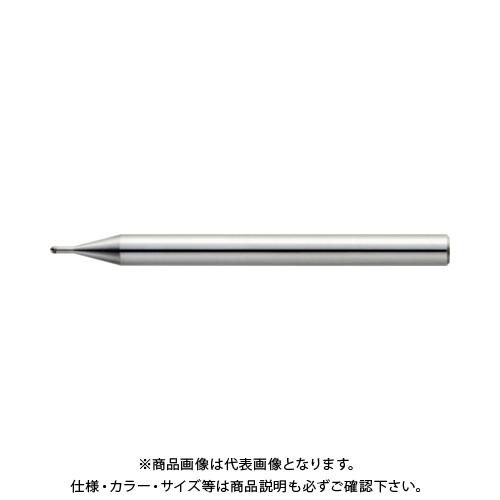 ユニオンツール 2枚刃超仕上げ加工用ロングネックボール R1×有効長3×刃長1.2×首径1.97 CBN-LBSF2020-030