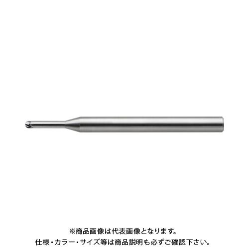 ユニオンツール 超硬2枚刃CBN仕上加工用ハイグレードロングネックボール CBN-LBF2010-015