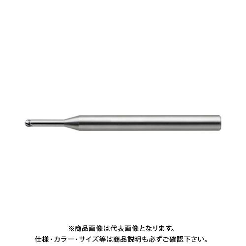 ユニオンツール 超硬2枚刃CBN仕上加工用ハイグレードロングネックボール CBN-LBF2006-010
