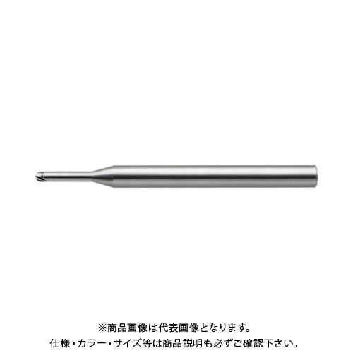 ユニオンツール 超硬2枚刃CBN仕上加工用ハイグレードロングネックボール CBN-LBF2004-010
