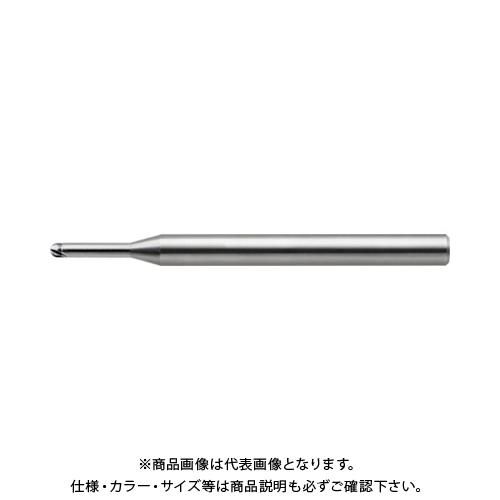ユニオンツール 超硬2枚刃CBN仕上加工用ハイグレードロングネックボール CBN-LBF2003-0075