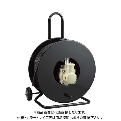 【運賃見積り】【直送品】OKS 防爆型コンセントリール50m キャスター付コンセントプラグ(岩崎電気製) CSPF-50WV