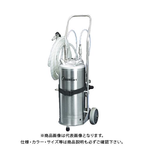 【運賃見積り】【直送品】いけうち 洗浄液発泡スプレーユニット AWACart-S-A ステンレスガン+接液部強アルカリ液対応タイプ AWA CART-S-A