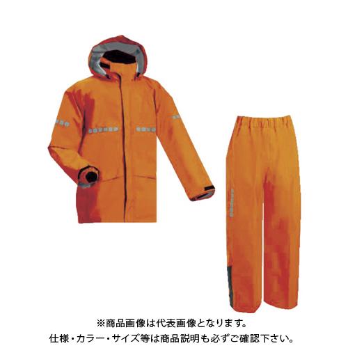 前垣 AP1000ワーキングレインスーツ レスキューオレンジ Lサイズ AP1000 R.OR L