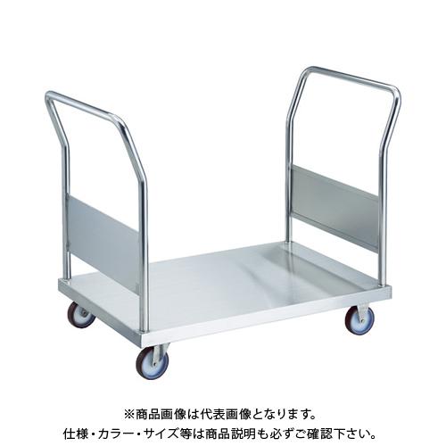 【運賃見積り】 【直送品】 TRUSCO オールステン両袖台車 1200X750 φ100NU AS-1W-100NU