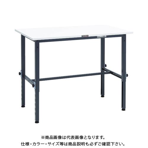 【運賃見積り】 【直送品】 TRUSCO AEM型高さ調節作業台 1200X750 DG色 AEM-1200 DG