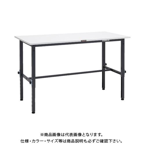 【運賃見積り】 【直送品】 TRUSCO AEM型高さ調節作業台 1500X600 DG色 AEM-1560 DG
