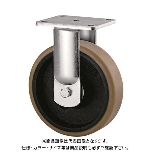 【運賃見積り】【直送品】テンテキャスター 超重荷重用キャスター(ウレタン車輪) 9688FTP250P63