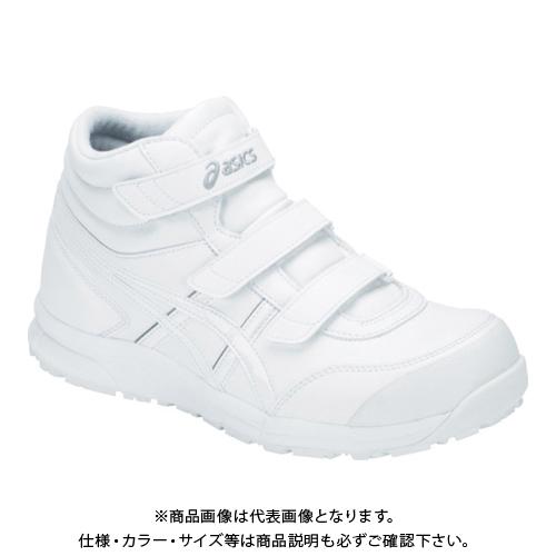 アシックス ウィンジョブ CP302 ホワイト/ホワイト 25.5cm FCP302.100-25.5