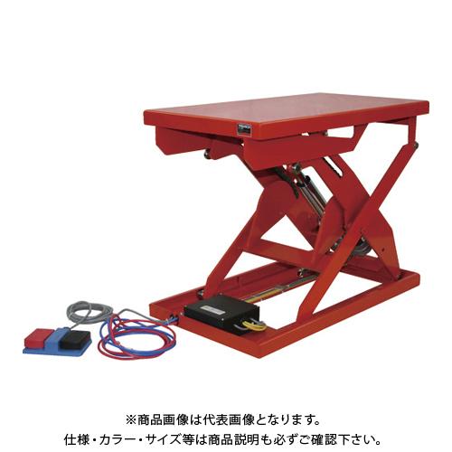 【直送品】TRUSCO テーブルリフト250kg 電動Bねじ式 DC12Vバッテリー専用 400×720 HDL-H2547V-D1