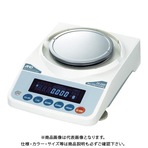 【直送品】A&D 汎用天びん FX200i 一般校正付 FX200I-JA-00A00