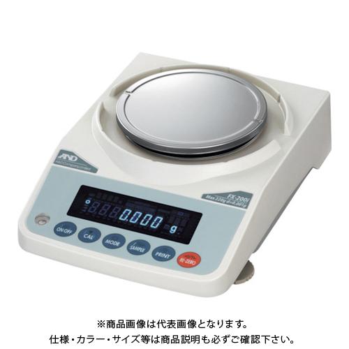 【直送品】A&D 汎用天びん FX200i JCSS校正付 FX200I-JA-00J00