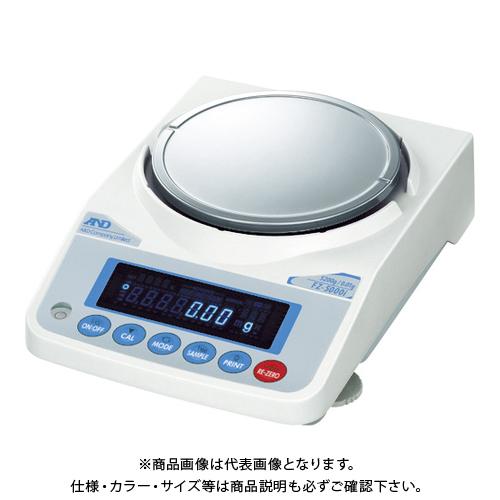 【直送品】A&D 校正用分銅内蔵汎用天びん FZ5000i 一般校正付 FZ5000I-JA-00A00