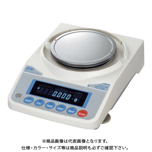【直送品】A&D 校正用分銅内蔵汎用天びん FZ120i JCSS校正付 FZ120I-JA-00J00