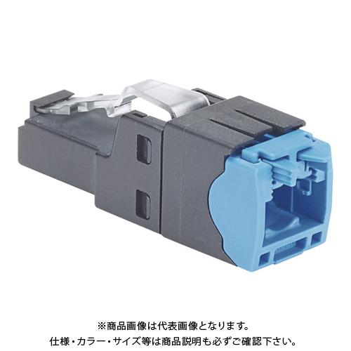 パンドウイット かんたん成端モジュラープラグ LANコネクタ カテゴリ5E~カテゴリ6A 10個入り FP6X88MTG-X FP6X88MTG-X