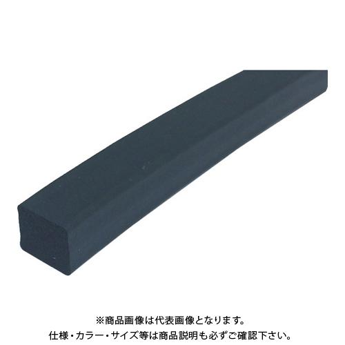 【運賃見積り】【直送品】TRUSCO フッ素ゴムスポンジ 角紐 10X15 3M FKM10X15-3M