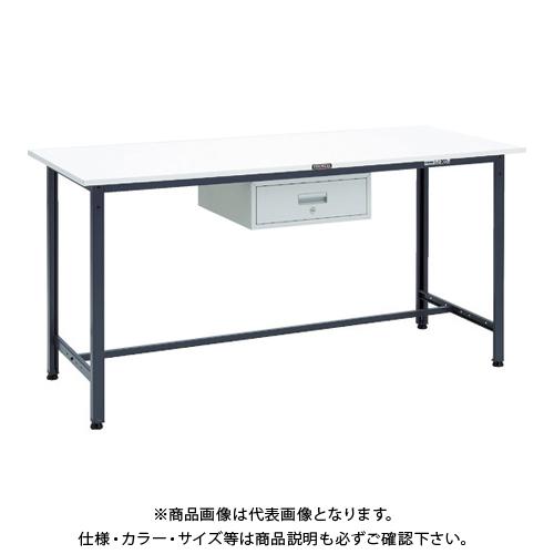 【運賃見積り】 【直送品】 TRUSCO HAE型立作業台 1800X750XH900 1段引出付 DG HAE-1800F1DG
