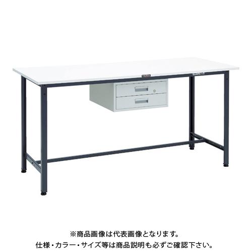 【運賃見積り】 【直送品】 TRUSCO HAE型立作業台 1800X750XH900 2段引出付 DG HAE-1800F2 DG