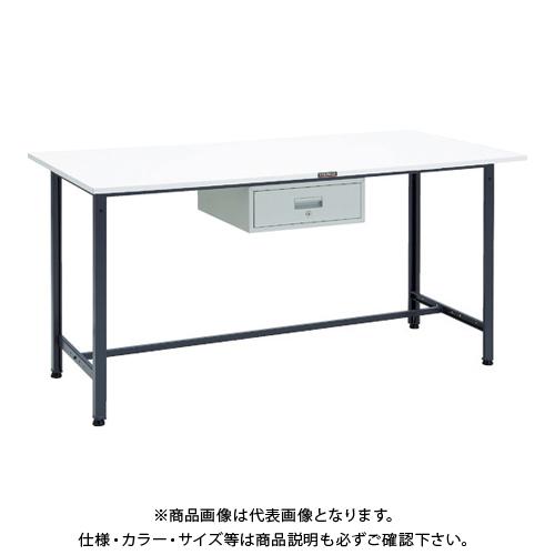 【運賃見積り】 【直送品】 TRUSCO HAE型立作業台 1800X900XH900 1段引出付 DG HAE-1809F1DG