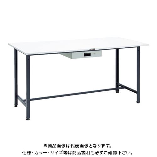 【運賃見積り】 【直送品】 TRUSCO HAE型立作業台 1800X900 薄型1段引出付 DG HAE-1809UDK1 DG