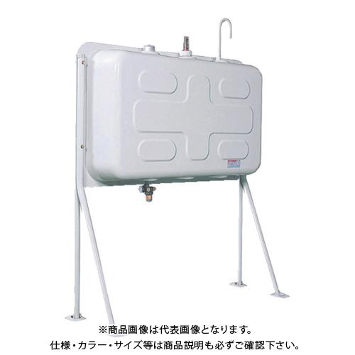 【運賃見積り】【直送品】ダイケン 屋外用灯油タンク ホームタンク壁寄せ片面タイプ標準脚195型 HT-K195VH