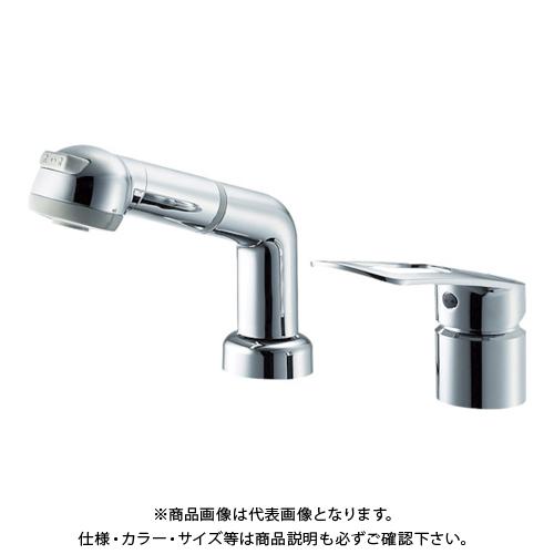 SANEI シングルスプレー混合栓(洗髪用) K3761EJK-C-13