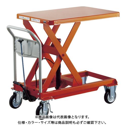 【運賃見積り】 【直送品】 TRUSCO ハンドリフター 1000kg 900X900 早送り付 HLFA-E1000W