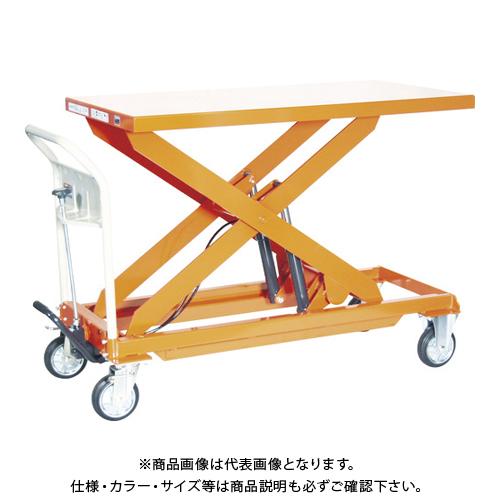 【運賃見積り】 【直送品】 TRUSCO ハンドリフター 500kg 600X1200 早送り付 HLFA-E500L