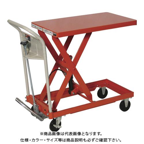 【運賃見積り】 【直送品】 TRUSCO ハンドリフター 750kg 600X900 早送り無し HLFA-S750