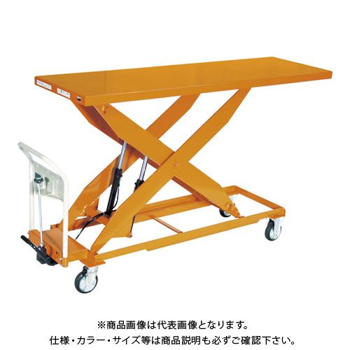 【直送品】TRUSCO ハンドリフター 500kg 600X1800 早送り無し HLFA-S500L-18