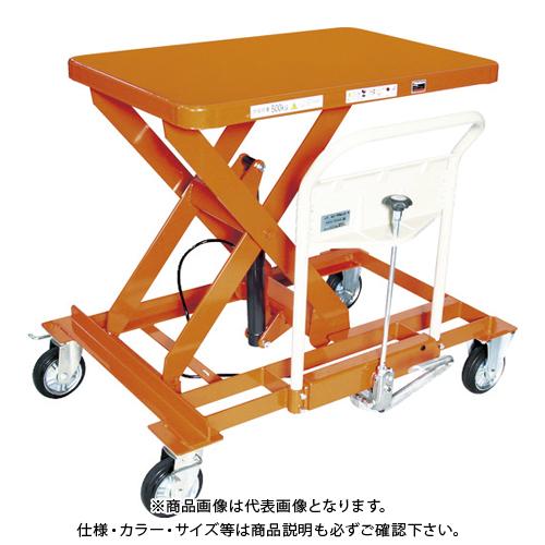 【運賃見積り】 【直送品】 TRUSCO ハンドリフター サイドハンドル 500kg 横移動 早送り無し HLFA-S500LLS-A