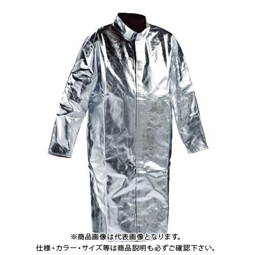 【12/5限定 ストアポイント5倍】JUTEC 耐熱保護服 コート Lサイズ HSM120KA-1-52