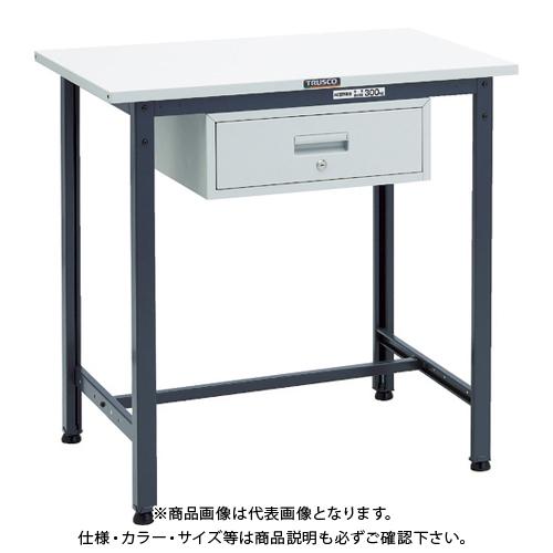 【運賃見積り】 【直送品】 TRUSCO HSAE型立作業台 900X600XH900 1段引出付 DG HSAE-0960F1 DG