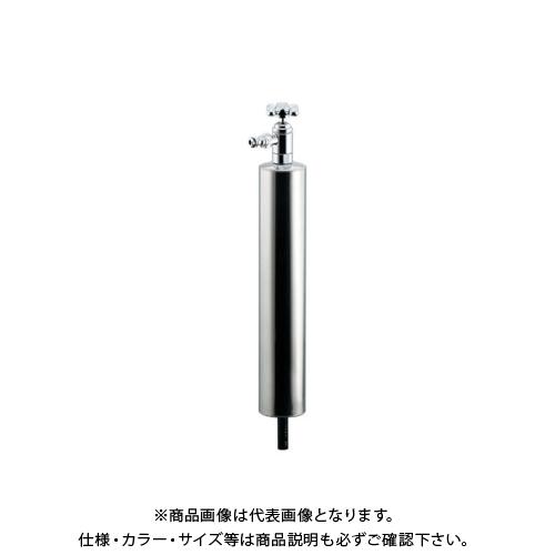 カクダイ 上部水栓型ステンレス水栓柱(ショート型) 624-083