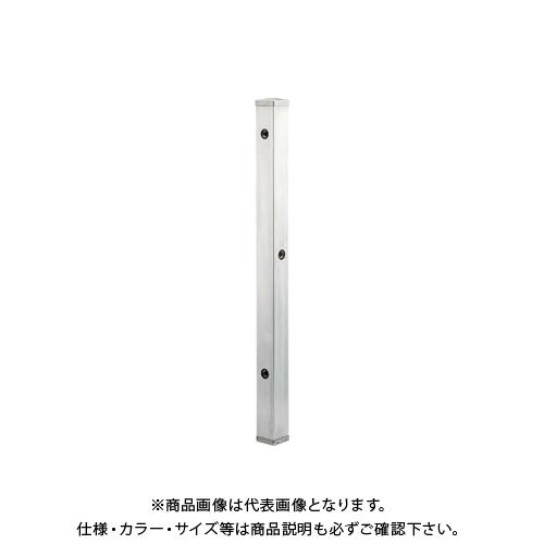 カクダイ ステンレス水栓柱(分水孔つき) 60角 624-115