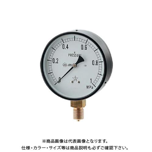カクダイ 蒸気用圧力計(一般用・Aタイプ) 649-873-04C