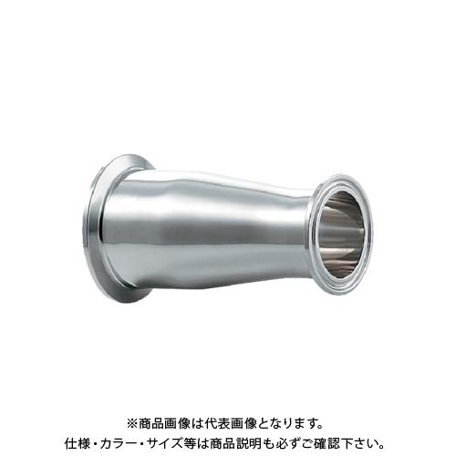 カクダイ ヘルール同芯レデューサー 2S×1.5S 691-08-DXC
