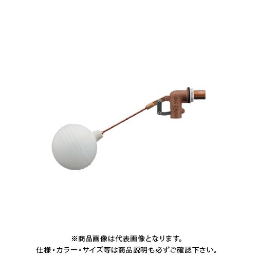 カクダイ 横形ボールタップ 耐熱ポリ玉 660-041-25
