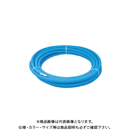 カクダイ メタカポリ(保温材つき)青 20 672-013-25