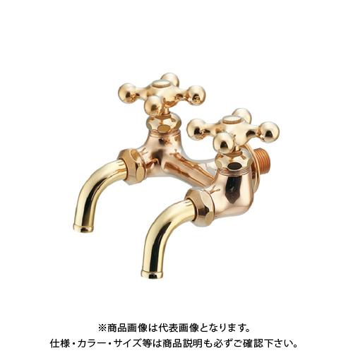 【8月20日限定!WエントリーでP14倍!!】カクダイ 双口ホーム水栓 705-014-13