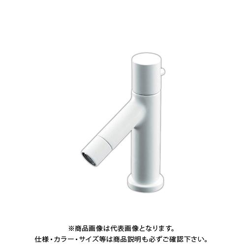 カクダイ 立水栓 ホワイト 716-839-13