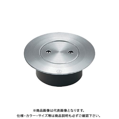 カクダイ VP・VU兼用ステンレスツバヒロ掃除口(接着式) 400-411-150