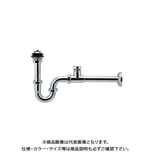 カクダイ 低位通気弁つきPトラップ 423-822-32