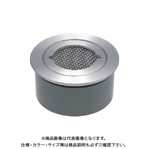 カクダイ VP・VU兼用ステンレス防虫目皿(接着式) 4247-150
