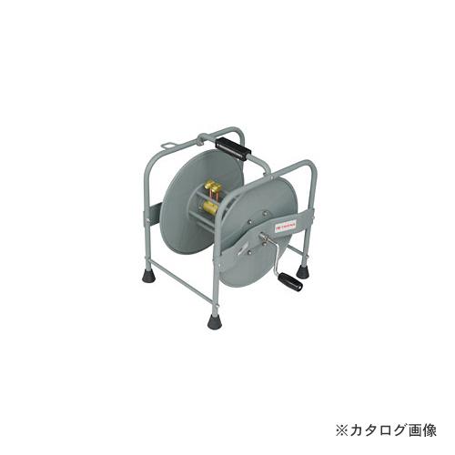 【納期約3週間】三協リール TRIENS 酸素アセチレンホース用ドラム 手巻きタイプ STR-00A