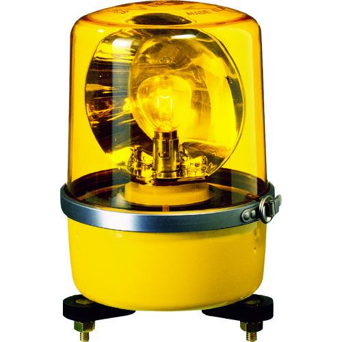 パトライト SKP-A型 中型回転灯 Φ138 色:黄 SKP-101A-Y