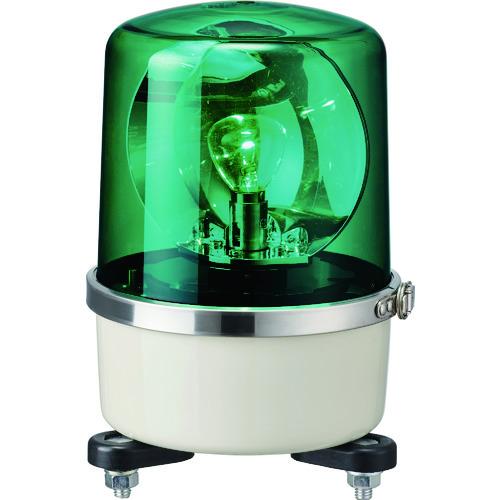 パトライト SKP-A型 中型回転灯 Φ138 色:緑 SKP-104A-G