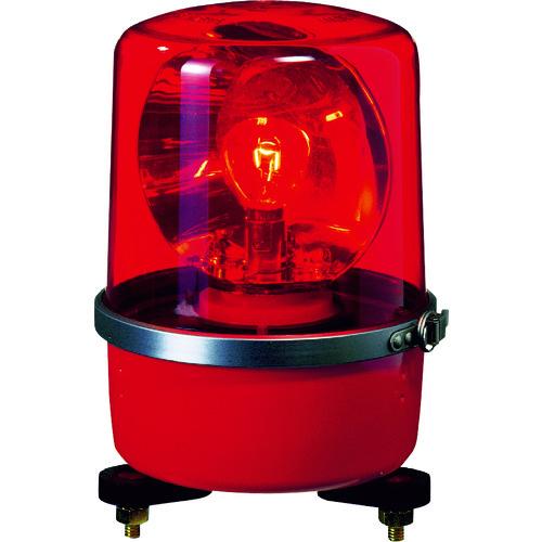 パトライト SKP-A型 中型回転灯 Φ138 色:赤 SKP-104A-R