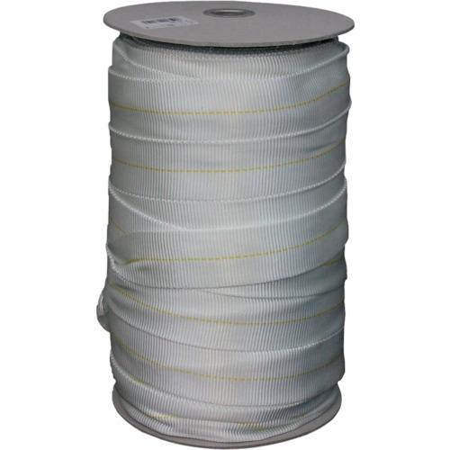 ユタカメイク ナイロン袋織ベルト ボビン巻 約36mm×約50m PFN-365