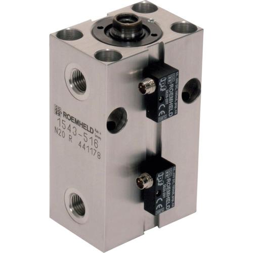 【個別送料2000円】【直送品】ROEMHELD ブロック・シリンダー ストローク 25mm ピストン径50 1546513